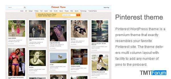 Pinterest-theme