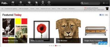 著名闪购网站Fab向游客开放,注册用户达到700万