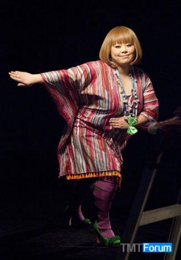 la farfa:日本第一本胖女孩时尚杂志,胖时尚的商业机会