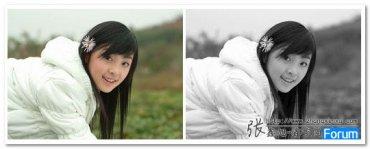 小tip: 使用CSS将图片转换成黑白的