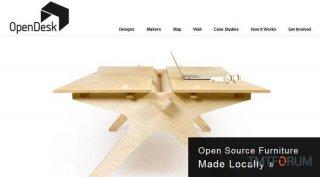 家具开源项目OpenDesk:自己动手造家具