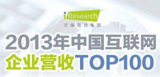 2013年中国互联网企业营收TOP100